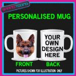 GERMAN SHEPHERD ALSATIAN  DOG PET MUG